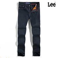 Плотные зимние утепленные мужские джинсы LEE 31-40 р. Отличное качество.  Доступная цена adf9905d89d6b