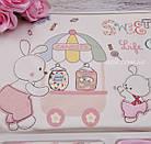 """Трикотажный набор для новорождённого """"Сладости"""" 10 предметов, фото 3"""