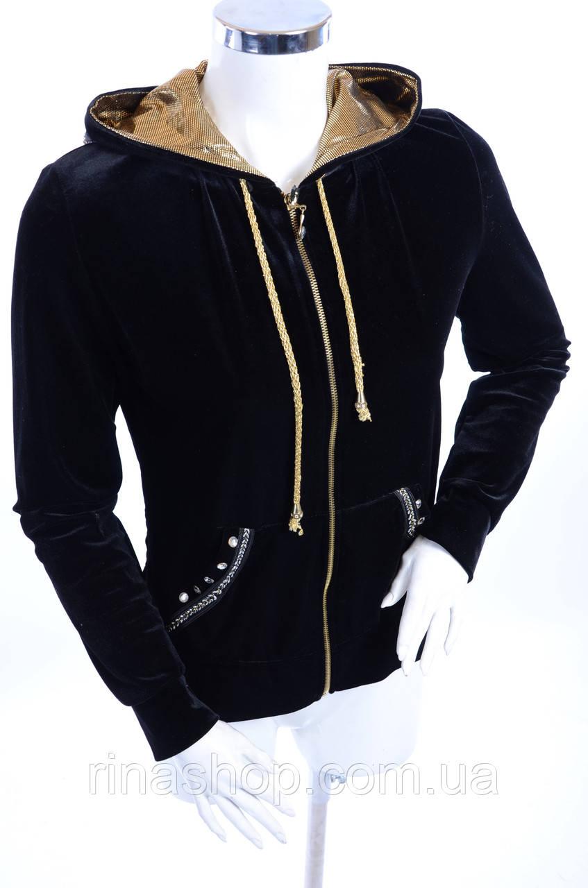 Велюровый женский спортивный костюм K700