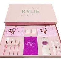 Набір декоративної косметики рожевий Kylie Jenner