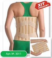 Корсет лечебно-профилактический (с 4 ребрами жесткости) эластичный Medtextile 3011