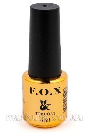 Топовое покрытие для ногтей F.O.X Top Coat, 12 мл