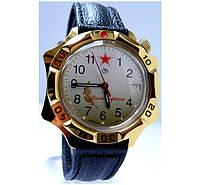 Мужские командирские механические наручные часы Восток с ручным заводом 03 генеральские