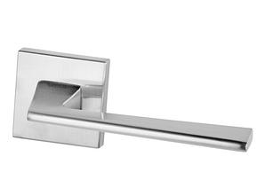 Дверная ручка VDS  Spy Q  хром-сатин