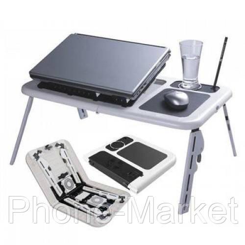 Столик для ноутбука E-table LD09 с 2 встроенными куллерами