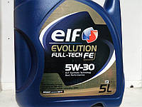 Масло синтетическое Elf Evolution Full-Tech FE 5W-30 (5 литров)