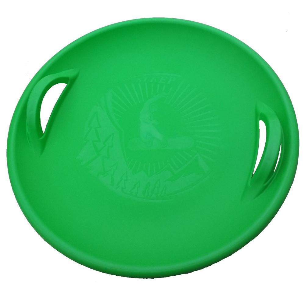 "Тарелка ледянка ""Steep"" зеленый"