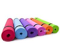 Коврик для йоги и фитнеса EVA Profi 3 мм (MS 0205)
