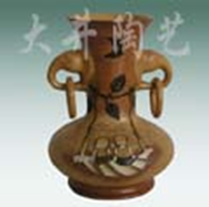 Китайская ваза 17cm*17cm*h23,5cm