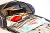 Дорожный несессер для косметики с крючком Premium (серый), фото 5