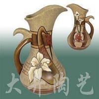 Китайская ваза -кувшин 16,4cm*15,2cm*h26,8cm, фото 1