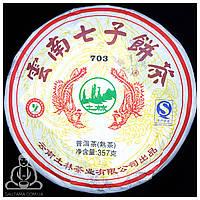 Чай Пуэр (Шу) Ту Линь 703 2016 год