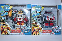 Робот-трансформер РОБОКАР ПОЛИ, в коробке, фото 1