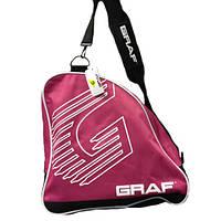 Сумка для коньков GRAF 25021 pink Skate bag