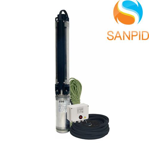 Насос погружной ZDS QS4P.3-19 + пульт