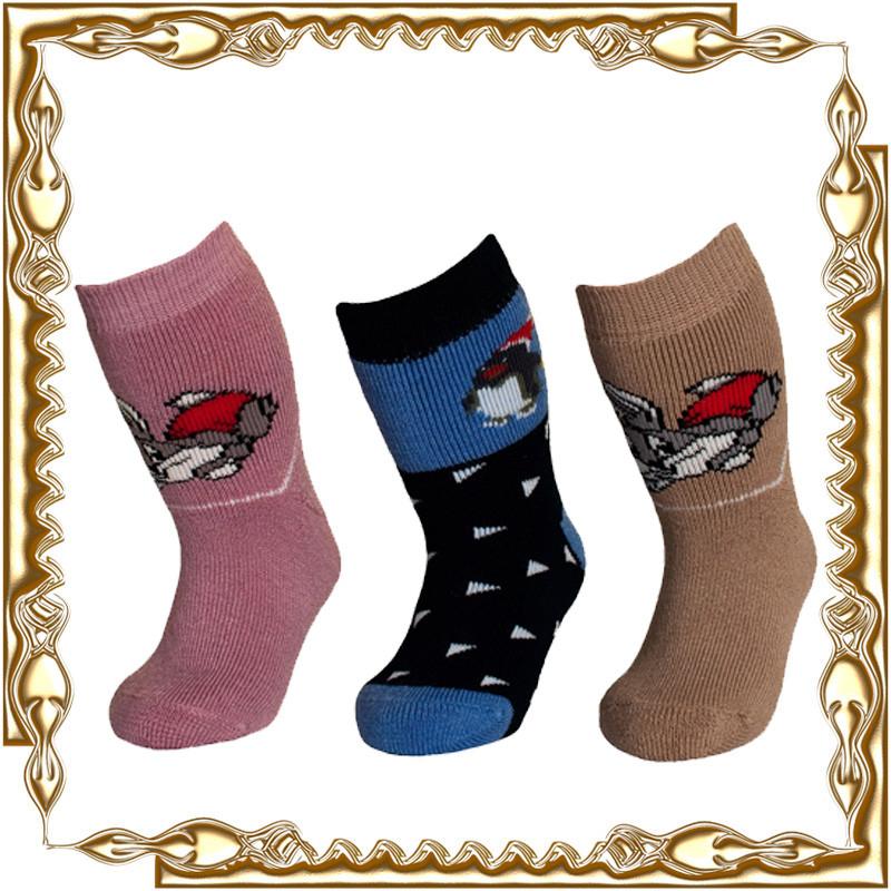 Шкарпетки махрові ДИТЯЧІ зимові 12 пар/уп.