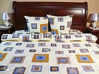 Комплект постільної білизни бязевий «Klassik» ЄВРО  (Комплект постельного белья из бязи «Klassik») ЕВРО)