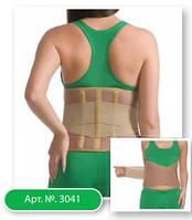 Корсет ортопедический с ребрами жесткости (согревающий) Medtextile 3041