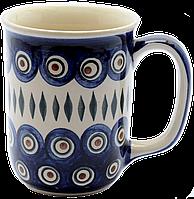 Кружка Muster 0,4L Перо павлина, фото 1