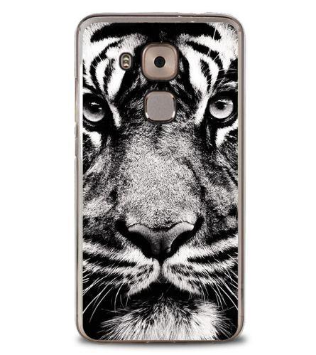 Чехол с картинкой (силикон) для Huawei Nova Plus Тигр