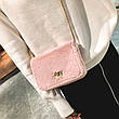 Сумочка розовый мех на цепочке 207-29, фото 6