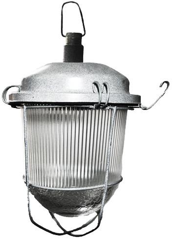 Светильник НСП 02-100-012 IP52 с решеткой подвес на крюк