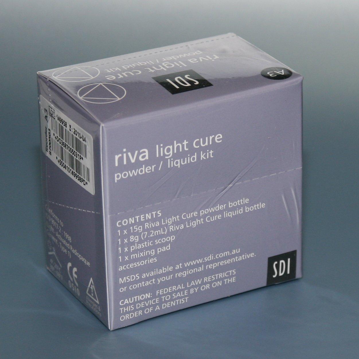 Riva light cure (Рива), Реставрационный эстетический стеклоиномер