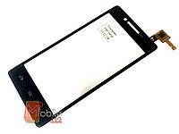 Тачскрин (сенсор) для Prestigio PAP5450 DUO, PAP5451 MultiPhone, чёрный оригинал PRC