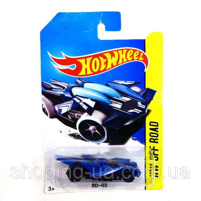 Машинка металлическая RD-02 Hot Wheels E757-11
