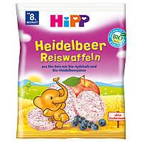 HiPP Рисовые хлебцы с лесными ягодами 35 г , с 8-го мес