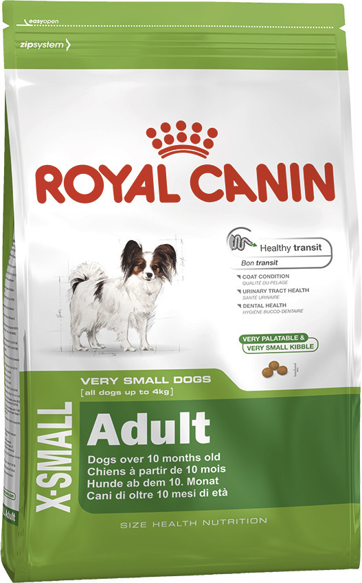 Сухой корм Royal Canin X-Small Adult 500г