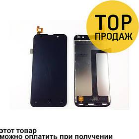 Дисплей для мобильного телефона Zopo C2/C3/ZP980/ZP980+, черный, с тачскрином, ORIG
