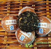 Пуэр Шу « Чэнь Пи Сяо Точа», пуэр с мандариновой коркой, Чан Юн 2014 год
