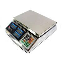 Мощные торговые электронные весы до 50кг Domotec MS-968. Отличное качество. Доступная цена. Дешево Код: КГ2901