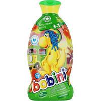 Детский шампунь-гель-пена для ванны BOBINI 400 мл груша