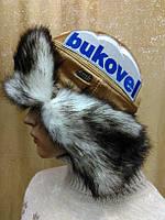 Шапки-ушанки женские мех искусственный Samhita Украина р-р 56-58, фото 1
