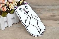 Резиновый 3D чехол Finger cat для Samsung Core Prime G360 / G361