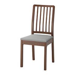 Кресло, коричневый, Оррста светло-серый IKEA EKEDALEN 803.410.19
