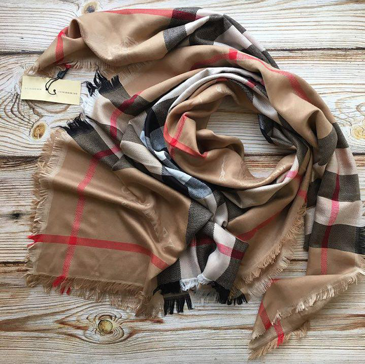 0866933ef1e5 Женский шарф, палантин Burberry, кашемир с шёлком  продажа, цена в ...