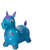 Детские прыгуны-лошадки (MS 0954) ПВХ-материал (Синий)