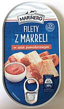 Консервированная скумбрия Marinero в томатном соусе 170 г