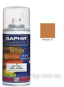 Аэрозольный краситель для гладкой кожи Saphir Tenax Spray 150 мл цвет красный бисквит (18)