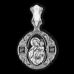 Образок. Икона Божией Матери Отрада и утешение.