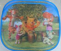 Защитные шторки в автомобиль Winnie the pooh 2шт.