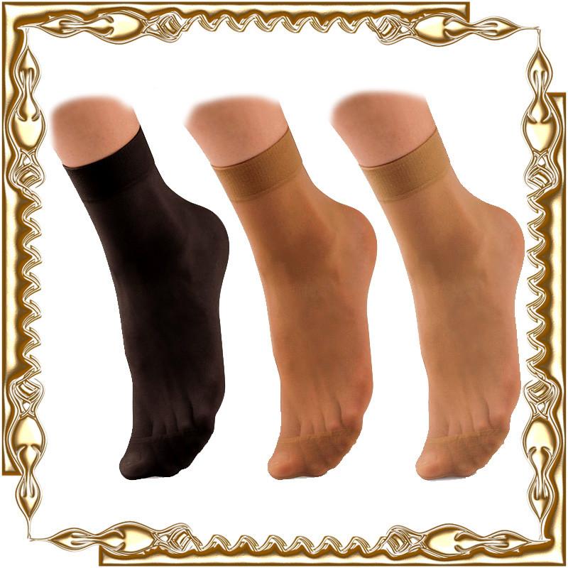 Шкарпетки жіночі капронові 10 пар/уп.
