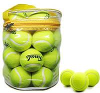Мячи для большого тенниса Final 01024: 24 штуки в комплекте