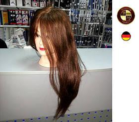 """Профессиональный манекен с натуральными волосами""""Каштан"""""""