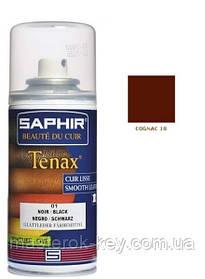 Аэрозольный краситель для гладкой кожи Saphir Tenax Spray 150 мл цвет коньяк (10)