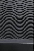 Кожволон Волна (Water Chanel) т. 3,5 мм цв., черный