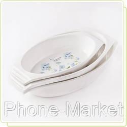 Фарфоровое овальное блюдо Maestro MR-11335-42